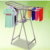 Stainless steel durable foldable hanging clothes rack