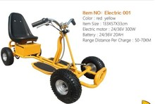 China manufacture cheap kids 36v electric motor go kart