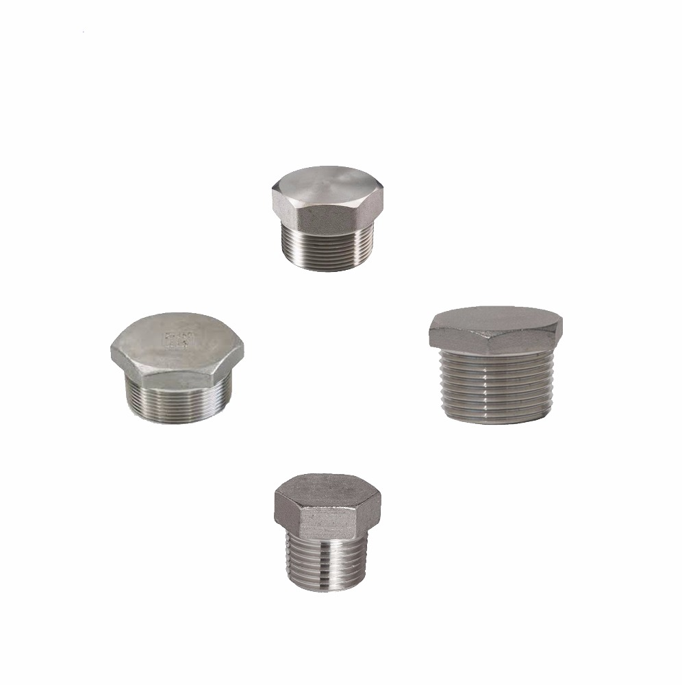 Stainless Steel Pipe Fitting 1'' Npt Hex Plug With lowest Price