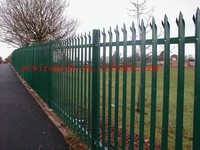 3.0mm Cold Rolled Palisade Fencing 100mm*68mm