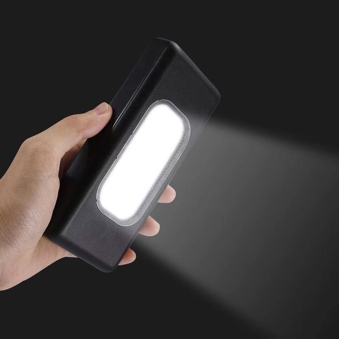 New Arrivals Fashion Power Bank 13000mAh Camping Use Power Bank with Strong LED Light