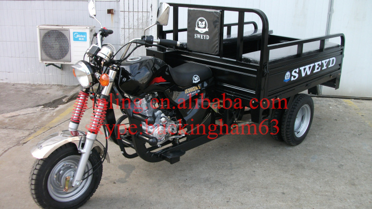hot new model150cc 200cc 250cc 300cc cheap three wheel motorcycle tricycle for sale