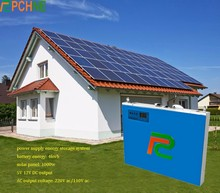 build-in inverter Solar energy 18650 battery storage 4KW 6KW Residential Energy Saving Storage Power System Batteries