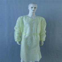 (CE,FDA,ISO13485 Approved) Disposable SMS Surgical Gown, SMS Surgical Gown with Kitted cuff