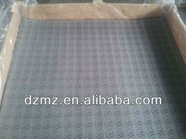 Acid resistance non asbestos jointing sheet rubber sheet gasket sheet