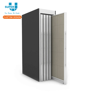 Modern Design Slide Tile Display Rack Stone Tile Rack Manufacturer Ceramic Tile Display Racks