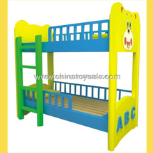 2016 hot sale wood bunk bed for baby/colorful bunk bed for kids /high qulity popular kids bedroom furniture