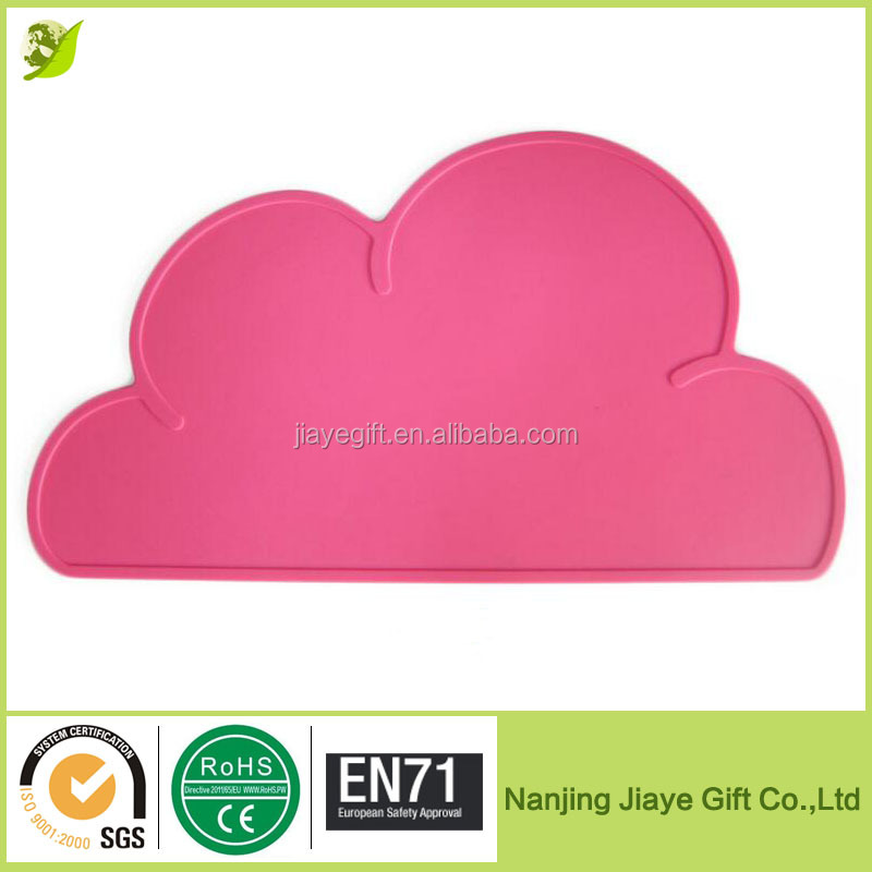Cloud Shaped Heat Resistant Silicone Baby Placemats