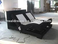 Box spring bed, adjustable bed, electric bed