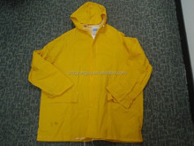 EN20471 Certification comfortable flashing safety raincoat with pockets