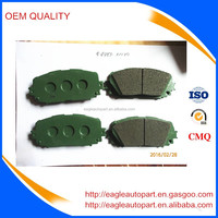 04465-52240 wholesale brake pad oem quality for toyota yaris vois