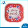 Newest Hot Custom Paper Plate Design and Custom Printed Disposable Fancy Paper Plate