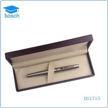Vip gift dubai silver roller pen with logo corporate gifts pen set