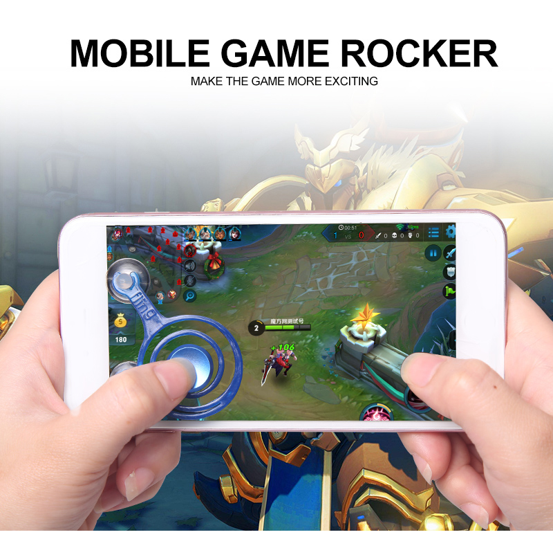 2017 LCOSE new arrival product Touch Screen mobile phone joystick/Phone Game Rocker/Touch Screen Joypad