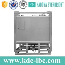 Custom sized stainless steel 1000l ibc