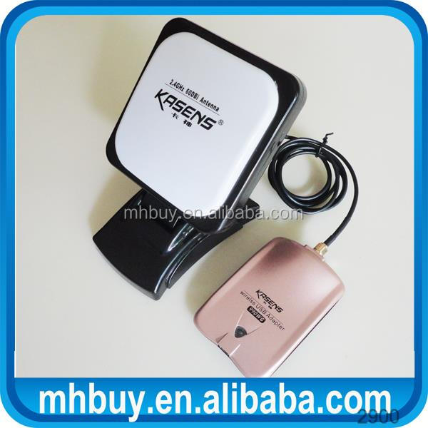 60DBI panel Antenna (SMA connector) 802.11n Wireless Lan Card Wifi Router signal Receiver