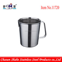 Stainless Steel Cup with Measurement Mark for Iraq Market