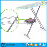 Trade Assurance ISO ironing board table with wicker baskets of GZ factory