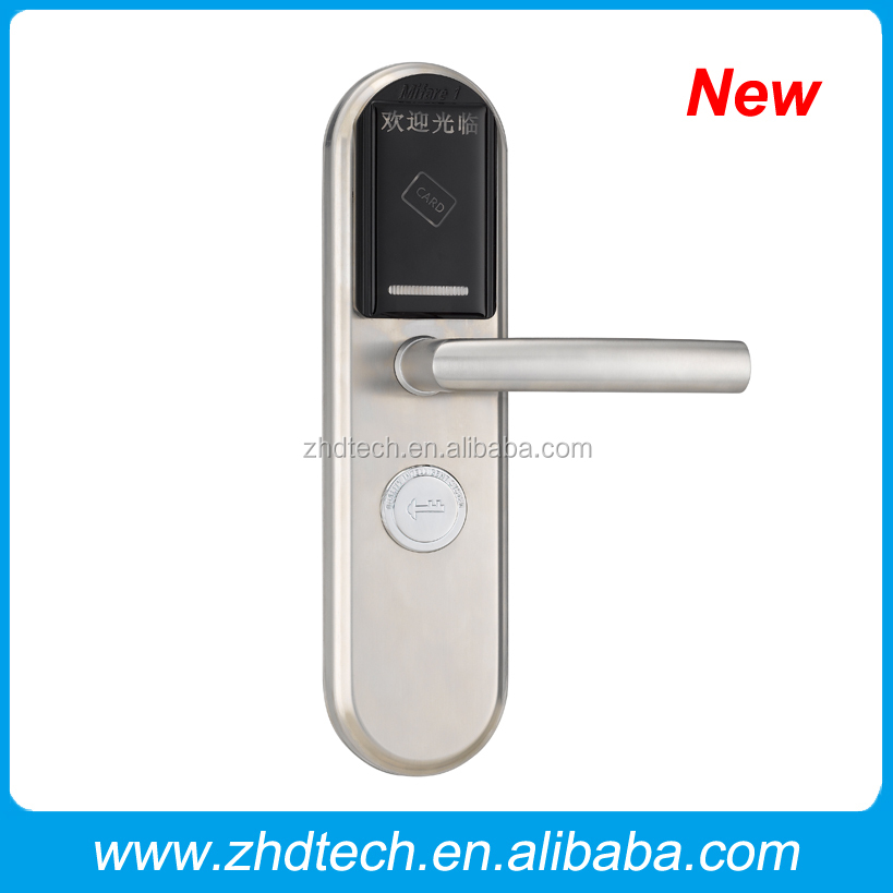 high quality RF card inductive lock security electric meter lock key