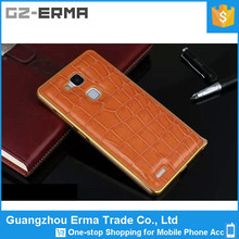 The First Layer Leather Back Cover Case For Samsung Note 3, Aluminium Bumper