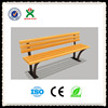 wholesale outdoor park bench durable cast iron park bench antique wood park bench QX-143J
