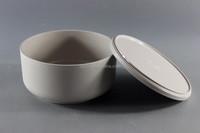 Anti-Slip Melamine Bowl With Lid Polish Surface Bowl Set