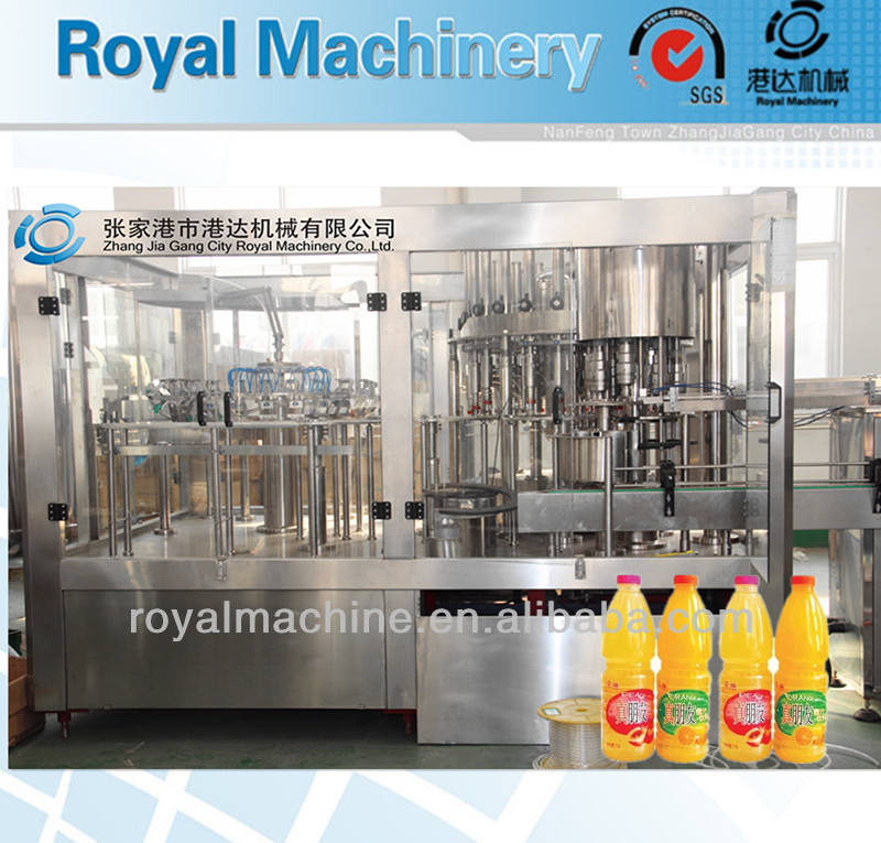 Full Automatic Aseptic Grain/Pulp Fruit Juice making Machine