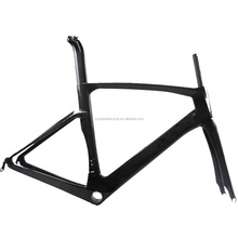 Glossy finish road bike carbon frame china