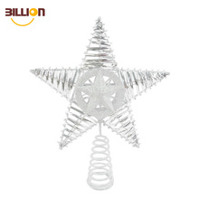 Christmas Decorations Holiday Sliver Star Tree Stand