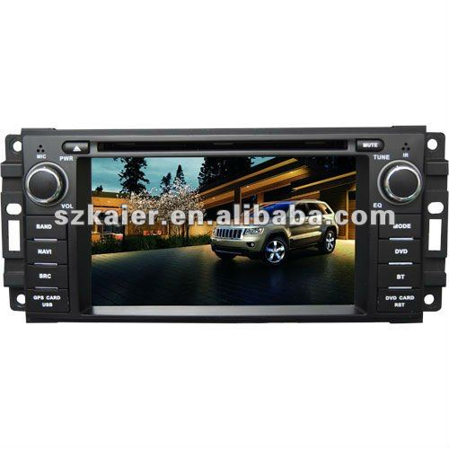 KR-6207 6.2'' in dash monitor/car dvd/ central multimedia for JEEP Grand Cherokee/Wrangler/Compass