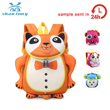 Promotional custom waterproof toddler plush kids school back pack for kids