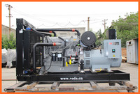 600KVA open type AC 3 phase generator diesel powered by Perkins