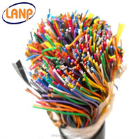 100 pair underground jelly filled telephone cable