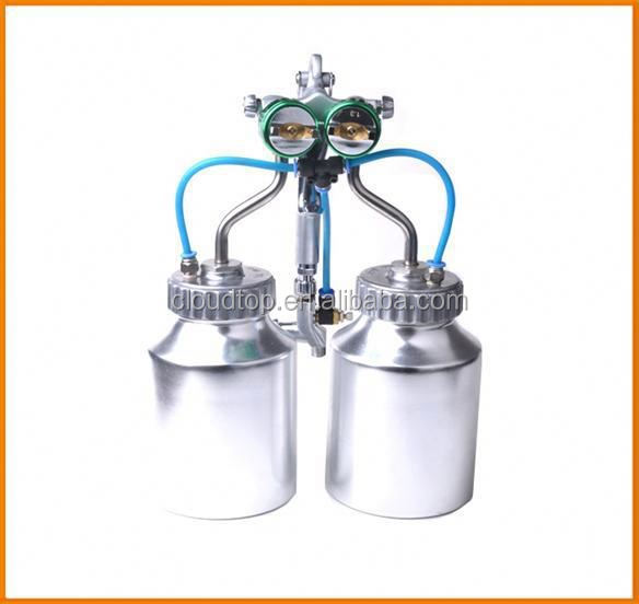 2015 hot on sales ningbo air tools very hot double nozzle liquid rubber roof coating