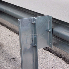 Galvanized Steel Guardrail Posts C channel pos fencing guardrail post
