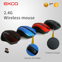 EXCO 2.4GHZ wireless mouse suitable for Win 98/2000/Me/Xp/Win 7/VISTA/MAC 10.0 ABOVE
