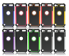 Amazon hot silicon drop resistance 3in1 case for ipod touch 5 6 cover case