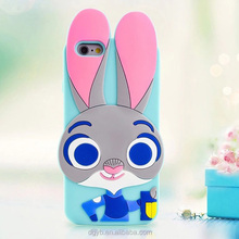 Personal customized 3d rubber phone case from chinese
