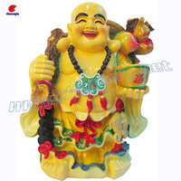 Laughing Buddha Statue,Resin Handicraft Works,Custom Casting Miniature