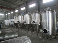 used alcohol stainless steel fermenting/fermentation equipment