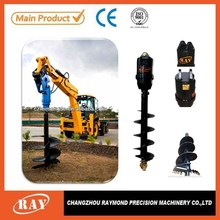 for excavator used tree planting earth drill REA2000/earth drill for Screw pile installations
