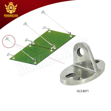 China suppliers Stainless Steel Canopy Factory Parts Glass Awning Fittings