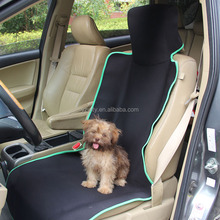 Wholesale custom made private label waterproof neoprene pet car seat protector cover