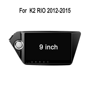 "9.1"" HD Special Car Dvd Player Use For Kia K2 with HD/11 languages USB/SD/BT/ Back view/car Dvd"