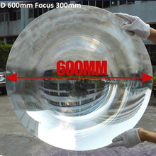 Large Big Size Round 600mm Magnifying Optical Fresnel Lens Plastic Solar Concentrator Energy For Sale