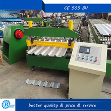 Metal Step Tile Roll Forming Glazed Roof Sheet Making Machine