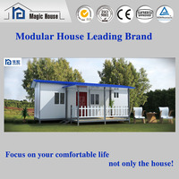 Cheap EPS Sandwich Prefabricated House for Temporary Residential Usage