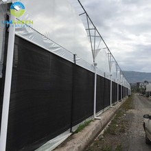 Large Multi span Plastic Film Greenhouse For Vegetables
