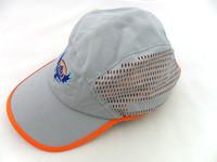 custom printing mesh running caps