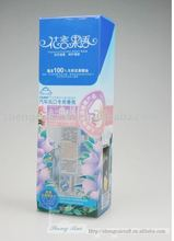 2013 New design Clear Perfume Box